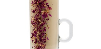Monin's Raspberry Rose Latte cocktail recipe