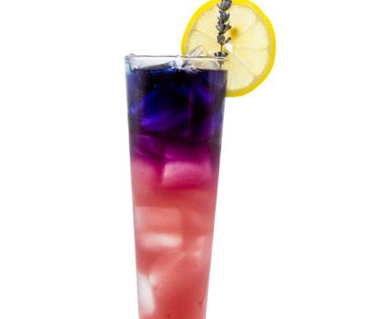 The Violet Hour mocktail recipe Monin