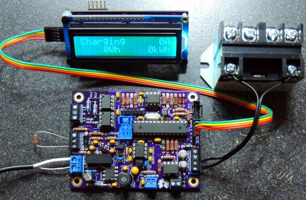medium resolution of diy open evse version 4 23 test setup in charging mode