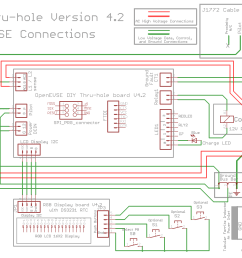 diy open evse v4 23 barbouri u0027s electronics projects sae j1772 schematic  [ 1594 x 1162 Pixel ]