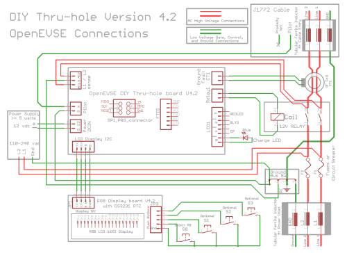 small resolution of diy open evse v4 23 barbouri u0027s electronics projects sae j1772 schematic