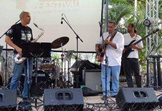 Pedro Barboza Cuarteto en el Hatillo Jazz Festival, con Carlos Sanoja, Pablo Gil y Abelardo Bolaño. Caracas Venezuela.
