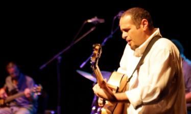 Pedro Barboza Cuarteto, Carlos Sanoja-Bajo, Joel Martinez-trombón, Abelardo Bolaño-Batería, Pedro Barboza-Guitarra, Concierto Centro Cultural BOD, Bautizo Disco La Gran Brisa. Caracas-Venezuela