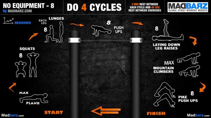 Full Body Calisthenics Workout Pdf | Workoutwaper co