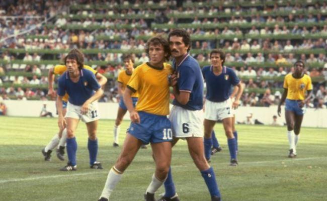 Italia Brasile 1982 Formazioni E Tabellino Del Match