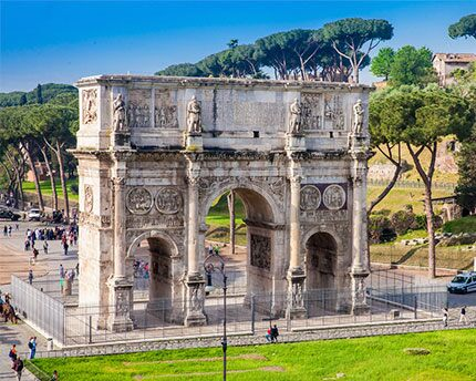 The Arch Of Constantine A Collage Of Ancient Roman Art