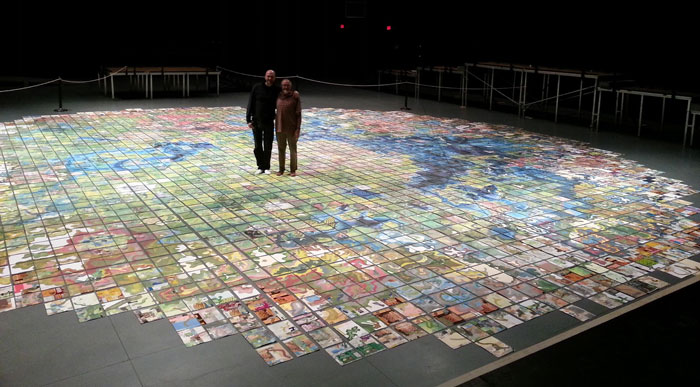 jerry's map exhibition