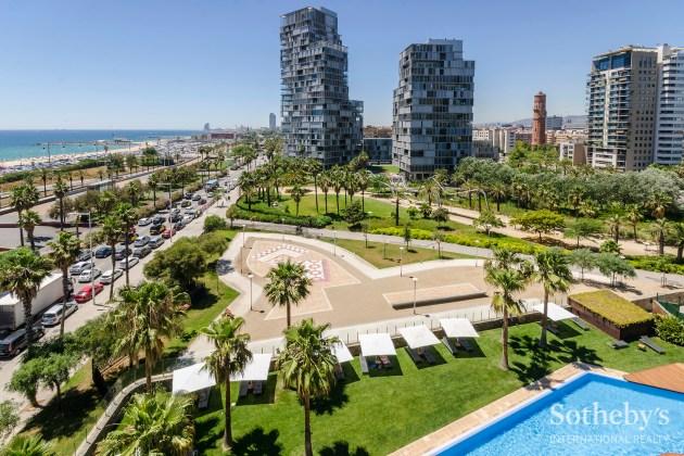 apartment in Illa del Mar, Barcelona