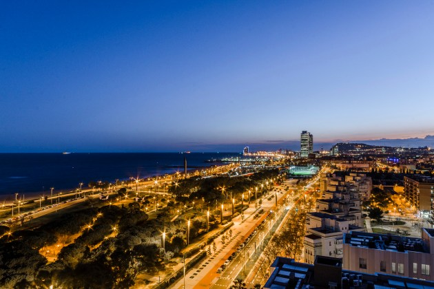 panoramic views in Barcelona