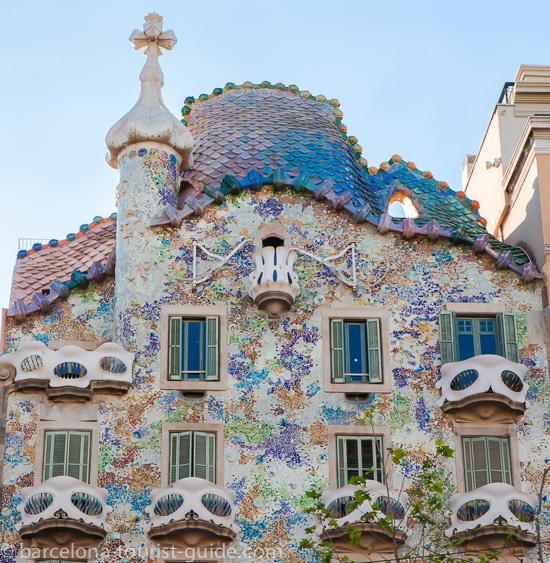 Gauds Casa Batll  Barcelona Photo Gallery