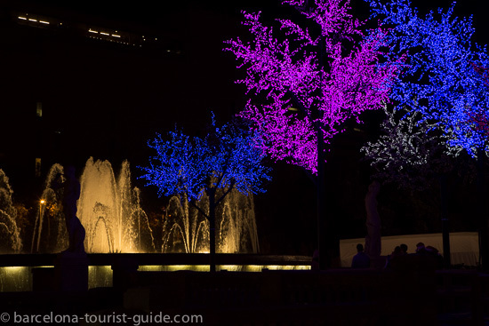 Christmas Events Barcelona Spain