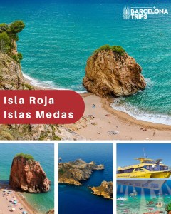 Medes Islands + Red Island