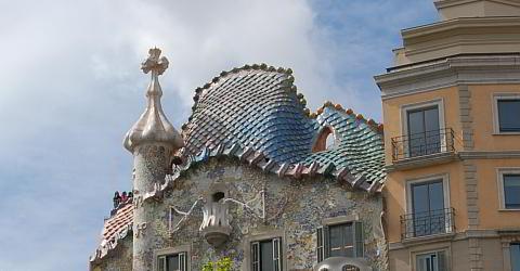 Das Casa Batll verkrpert die Sankt Georgs Legende