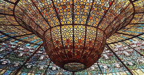 Palau de la Msica Catalana in Barcelona