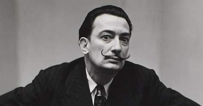 Painter and sculptor Salvador Dalí