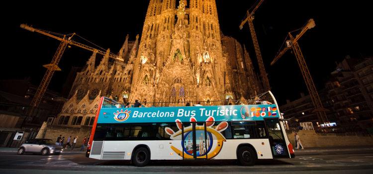 """Barcelona """"Hop On Hop Off"""" Bus"""
