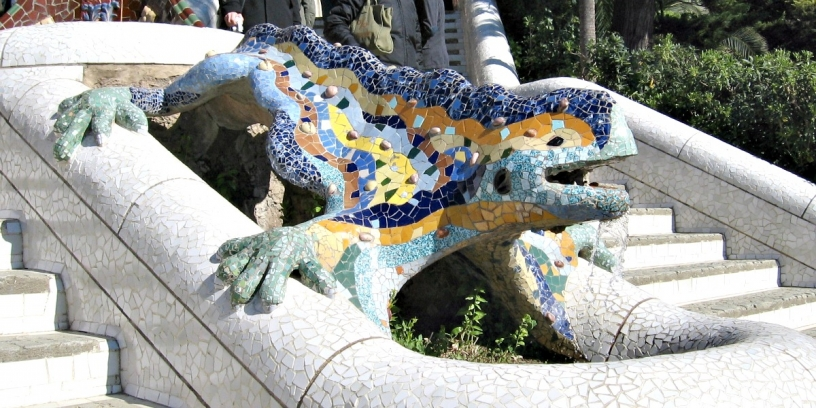 Sabes por qu hay tantos dragones en Barcelona