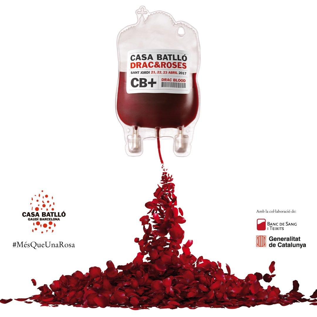 Drac  Roses a Casa Batll Un nuevo Sant Jordi solidario