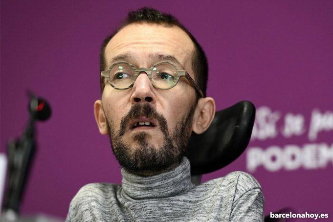 Echenique es apartado de la cúpula de Podemos