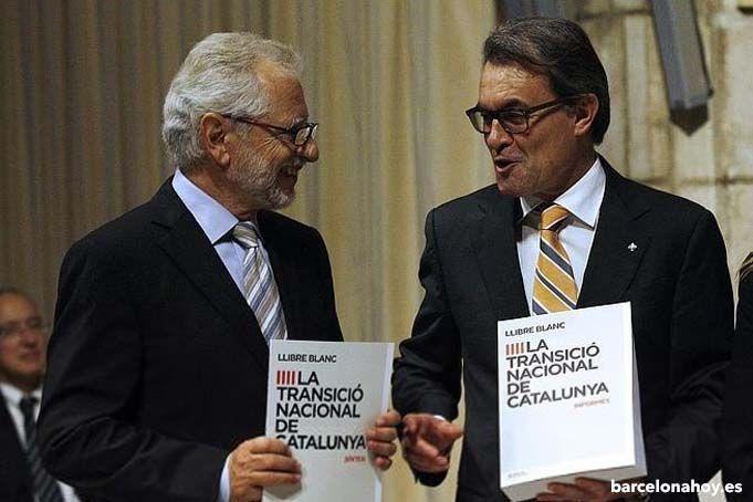 Carles Viver Pi-Sunyer y Artur Mas