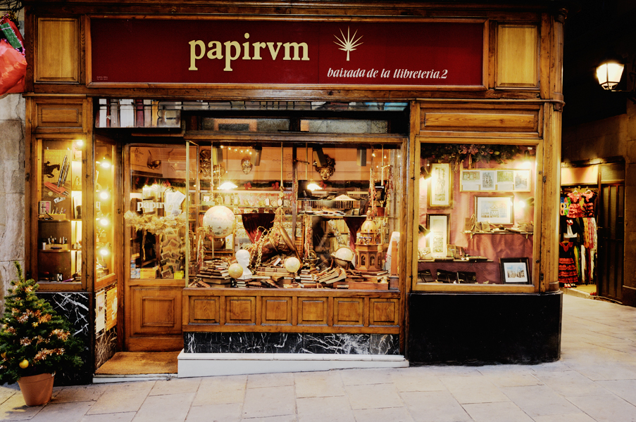Papirum Shop, Barcelona Placa St Jaume