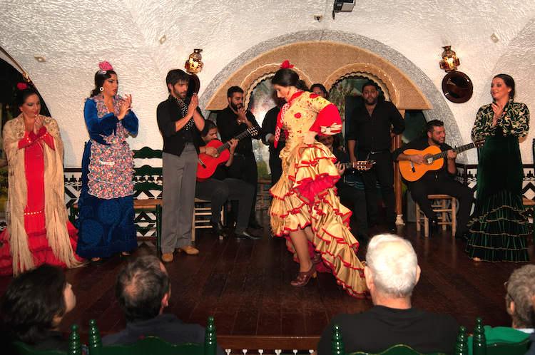 Annebeth ging naar een flamencovoorstelling van El Tablao Cordobés. ¡Olé!
