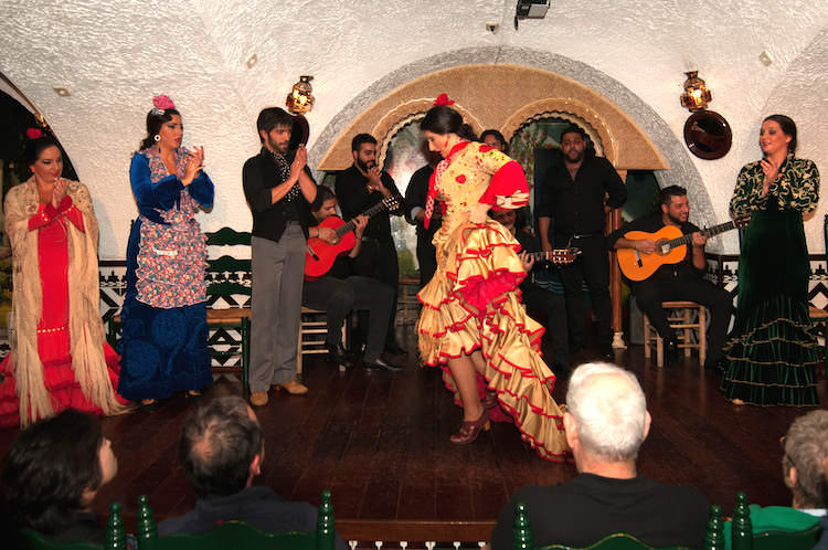 Voorstelling flamenco tablao cordobes Barcelona