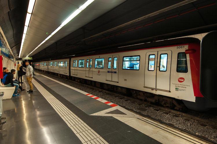 metro, tunnel, donker