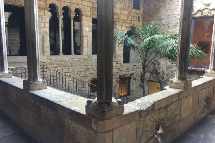 Picasso Museum Barcelona patio