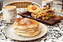 Pannenkoeken, wafels en koffie Alsur