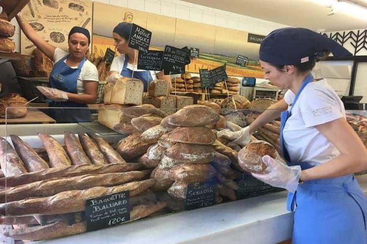 Broden bij bakker Baluard Barceloneta