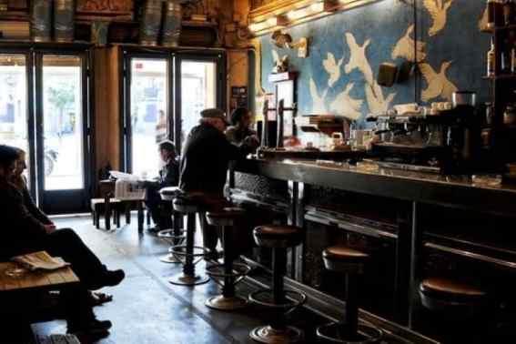 Binnenkant Bar Oviso Bar