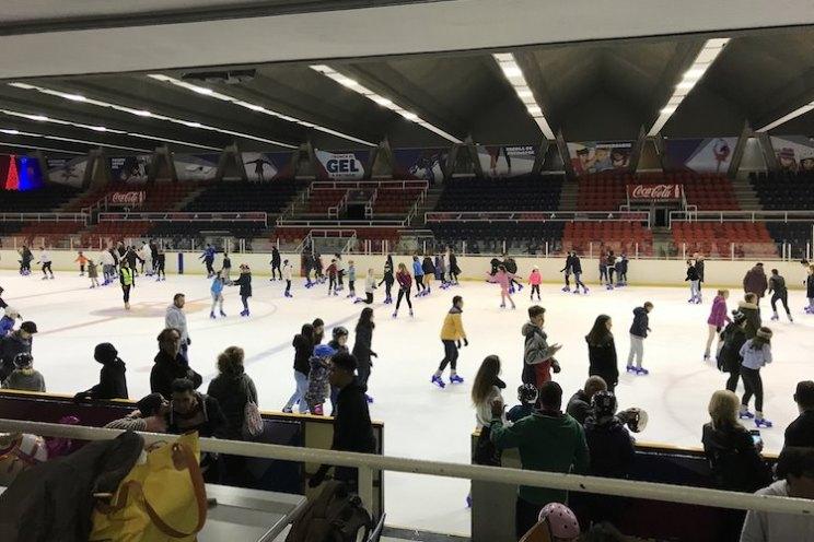 schaatsbaan camp nou