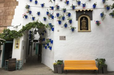 poble espanyol muur cordoba