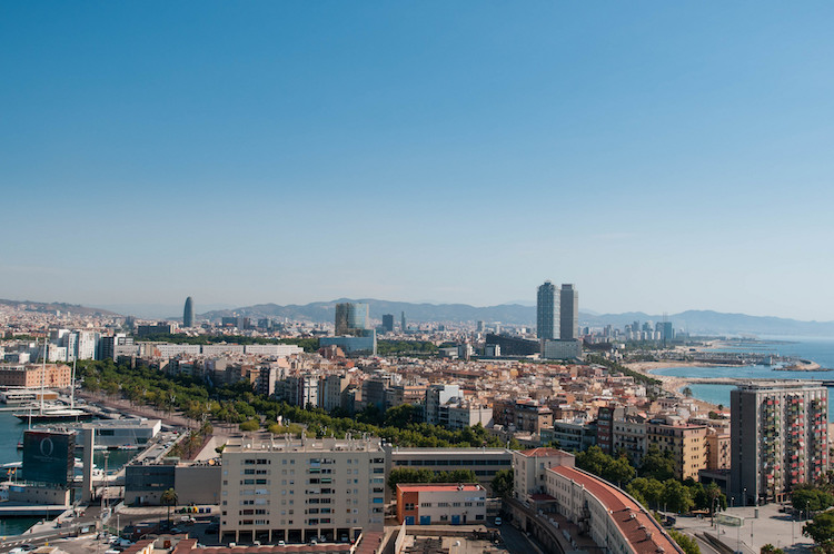 barcelona haven skyline