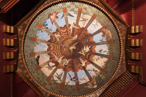 Plafond in Casa Vicens