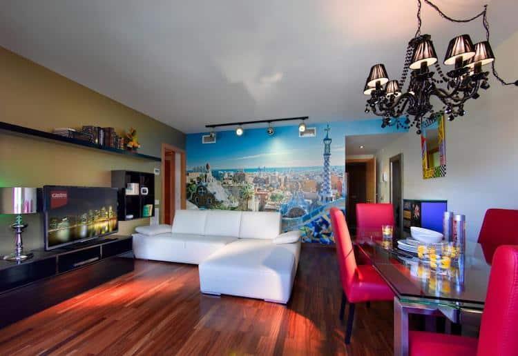 Woonkamer van Castro Exclusive Residences Sant Pau