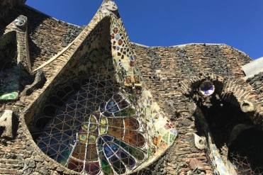 Colonia Guell raam