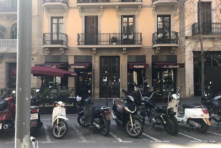 Enric Granados straat Barcelona