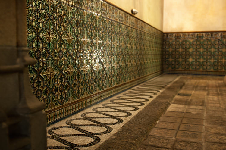 Binnenkant Casa Amatller