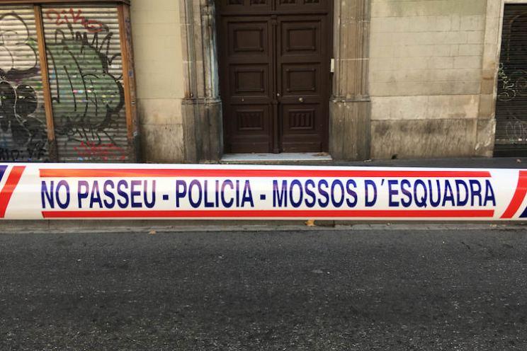aanslag rambla barcelona afgesloten