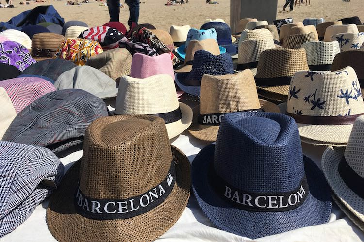 strand hoedjes
