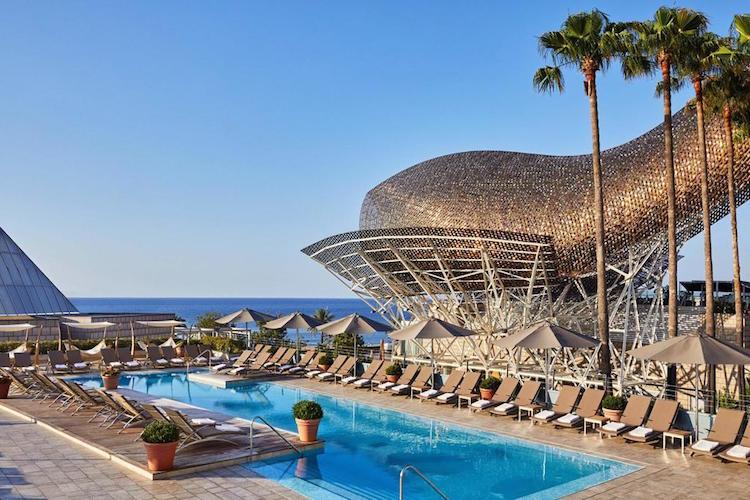 Beste hotels aan het strand van Barcelona bij zee