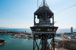 Torre Jaume kabelbaan haben Barcelona