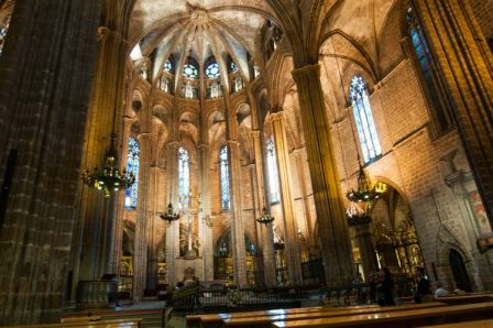 kathedraal interior foto