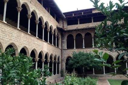 klooster Pedralbes binnenplaats