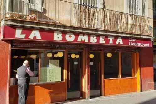 Gevel La Bombeta restaurant