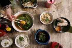 Verschillende gerechten LaVietnamita