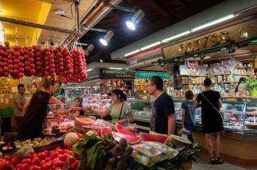 markt Santa Caterina in wijk El Born in Barcelona