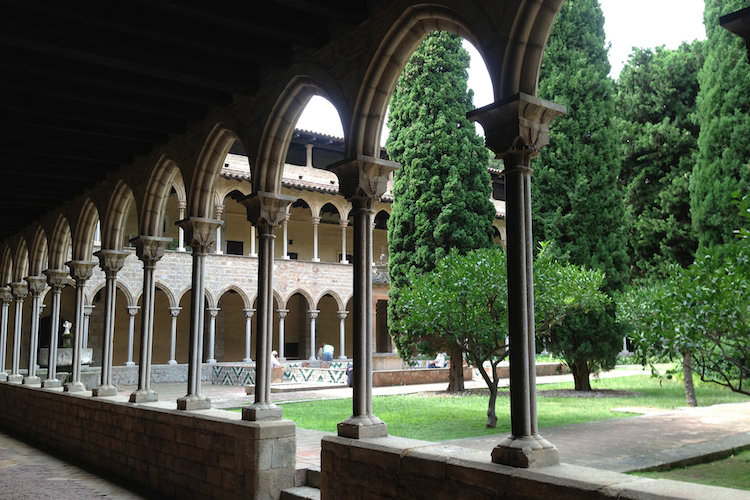 Klooster Pedralbes Barcelona